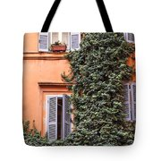 Traditional House Rome Italy Tote Bag