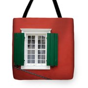 Traditional Red House Tote Bag