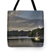 Traditional Sailing Boat Tote Bag