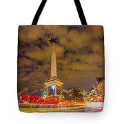 Trafalgar Light Trails Tote Bag