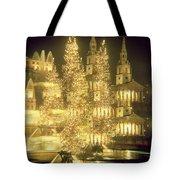 Trafalgar Square Christmas Lights Tote Bag
