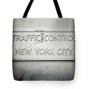 Traffic Control Tote Bag