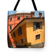 Traffic Mirror Soave Italy Tote Bag