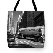 Traffic - New York In Perspective Series Tote Bag