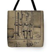 Traffic Signal Patent Tote Bag