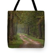 Trail Along The Canal Tote Bag