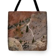Trail Into The Past Tote Bag