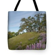 Trail Of Lupine Tote Bag