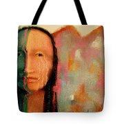 Trail Of Tears Tote Bag by Johanna Elik
