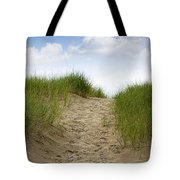Trail Over The Dune To The Summer Beach Tote Bag