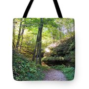 Trail To Devil's Punch Bowl Wildcat Den Tote Bag