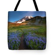 Trail To Majesty Tote Bag