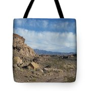 Trail To The Mountains Tote Bag