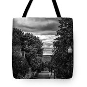Trail To Town Tote Bag
