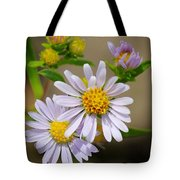 Trail Wildflowers Tote Bag