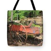 Trailer Flowerbed Tote Bag