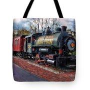 Train At Olmsted Falls - 1 Tote Bag