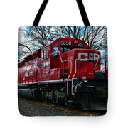 Train - Canadian Pacific 5690 Tote Bag