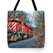 Train - Canadian Pacific Engine 5937 Tote Bag