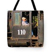 Train Conductor Tote Bag