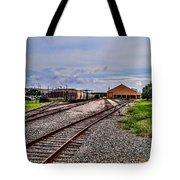Train Depot Tote Bag