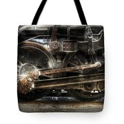 Train - Engine - 1218 - Nw Type-a 1218 Steam 2-6-6-4 Tote Bag