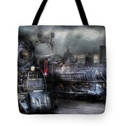 Train - Engine - 1218 - Waiting For Departure Tote Bag