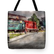 Train - Engine - Black River Western Tote Bag