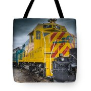 Santa Fe Southern Railway Engine Tote Bag