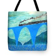 Train For A New World By Taikan Tote Bag