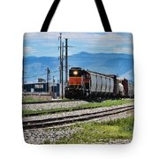 Train In The Mile High Tote Bag