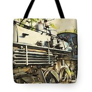 Train Is Coming Two Tote Bag