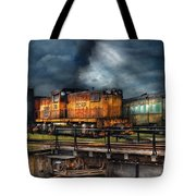 Train - Let's Go For A Spin Tote Bag