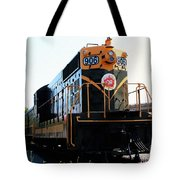 Train Museum - End Of The Line - Canadian National Railway Tote Bag