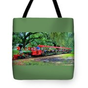 Train - New Orleans City Park Tote Bag
