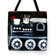 Train Ornament Tote Bag