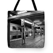 Train Passing Tote Bag