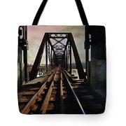 Train Rail Bridge  Tote Bag
