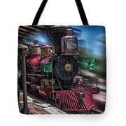 Train Ride Magic Kingdom Tote Bag