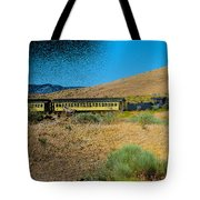 Train-sitions Tote Bag