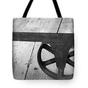 Train Station Cart Tote Bag