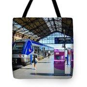 Train Station Marseille France Tote Bag