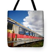 Train To Nowhere Tote Bag