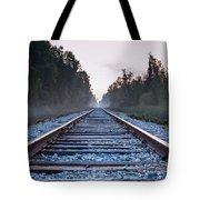Train Tracks To Nowhere Tote Bag