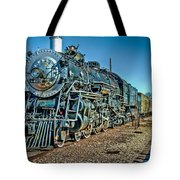 Train Travel Tote Bag