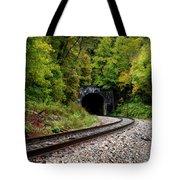Train Tunnel Tote Bag