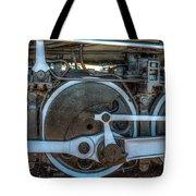 Train Wheels Tote Bag