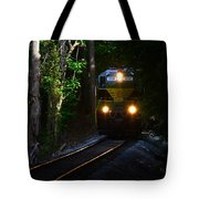Rails Through The Wilderness Tote Bag