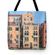 Training On The Grand Canal Tote Bag