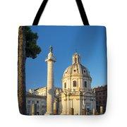 Trajans Column - Rome Tote Bag
